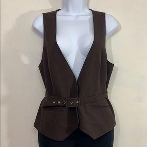 🦇3 for $20🦇 Worthington vest with waist belt